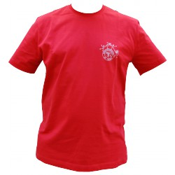 "T-shirt Homme ""Kariban"" Rouge"